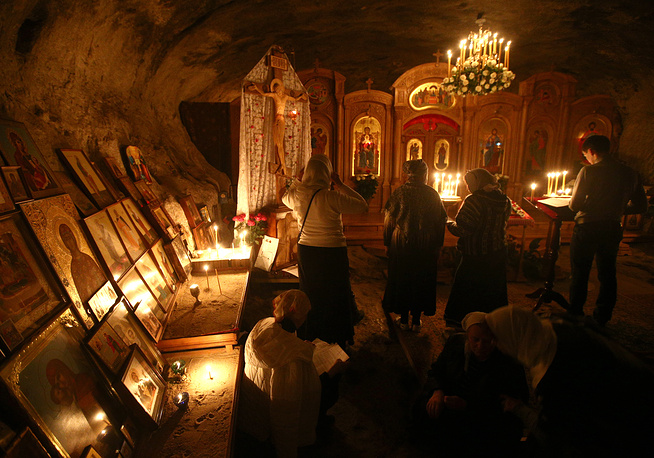 Easter vigil in Crimea