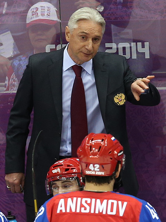 From 2012 to 2014 the Russian national team was coached by Zinetula Bilyaletdinov. In 2012, Russia won the World Championship in Helsinki