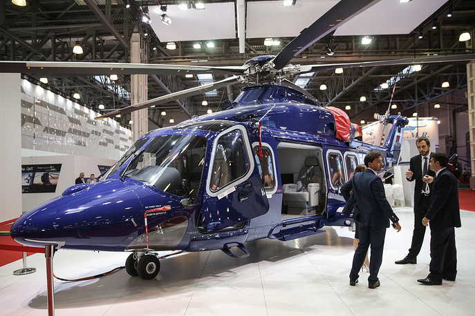 AW-139 helicopter