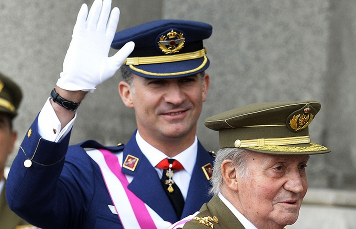 King Juan Carlos I of Spain has announced his plans to abdicate on June 02, 2014