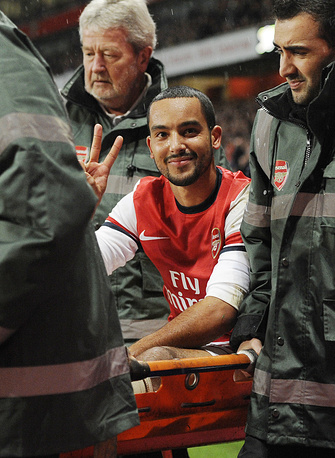 England's Theo Walcott won't be able to help his national team either