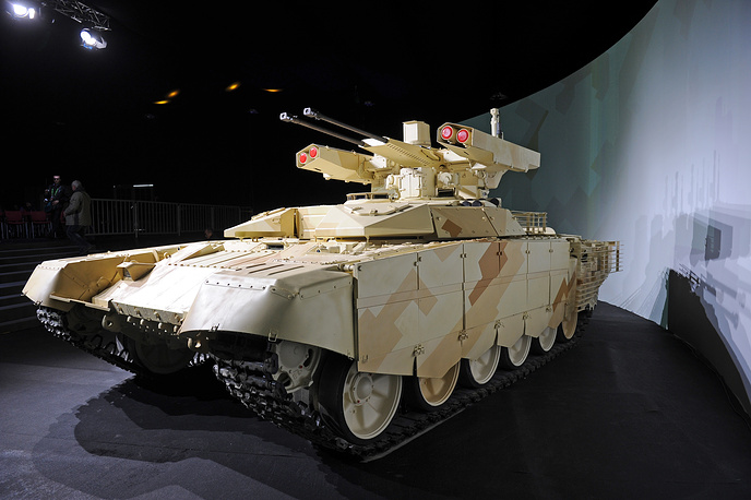 Fire support combat vehicle BMPT-72 (Terminator-2)