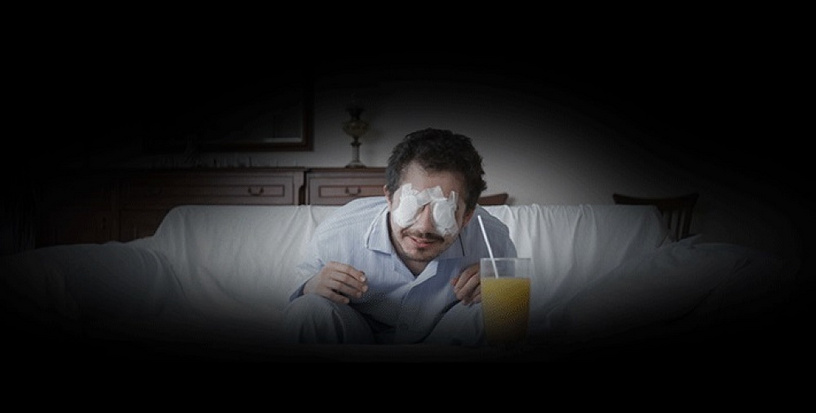 'Eye am' by directors Hakki Kurtulus and Melik Saracoglu is a story of a young film-freak who nearly goes totally blind. The film is based on real events in the life of one of its directors