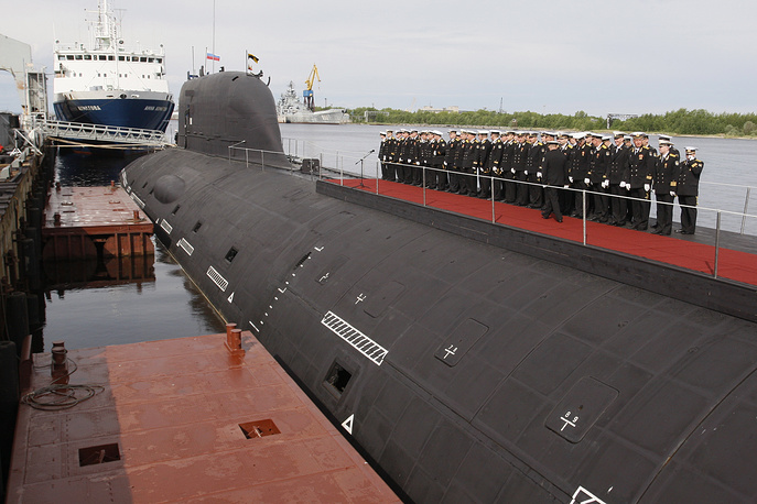 Yasen-class nuclear submarine Severodvinsk