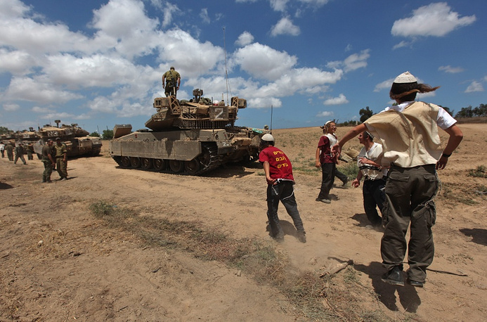 The ground operation was launched after Israel was unable to stop missile fire at its territory by Hamas fighters