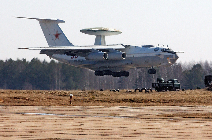 The Beriev A-50 is the only Russian airborne early warning aircraft
