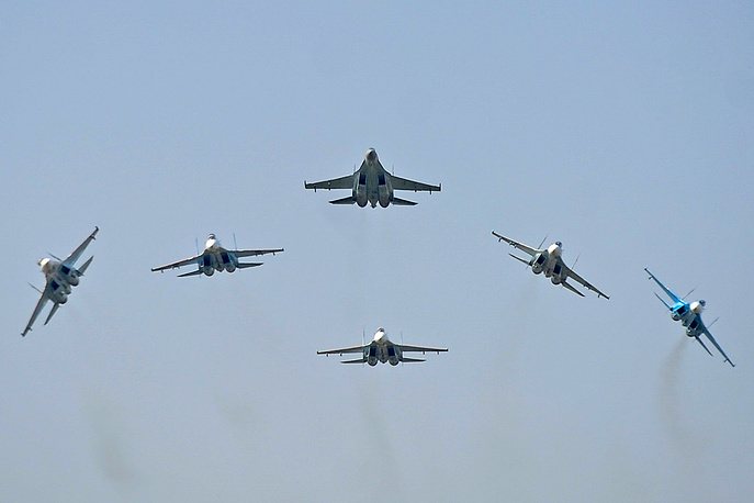 Su-27 fighter jets
