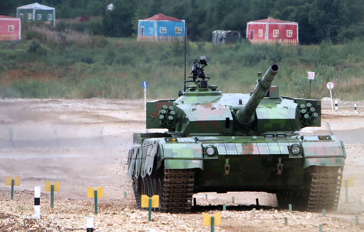 A Chinese 96A tank