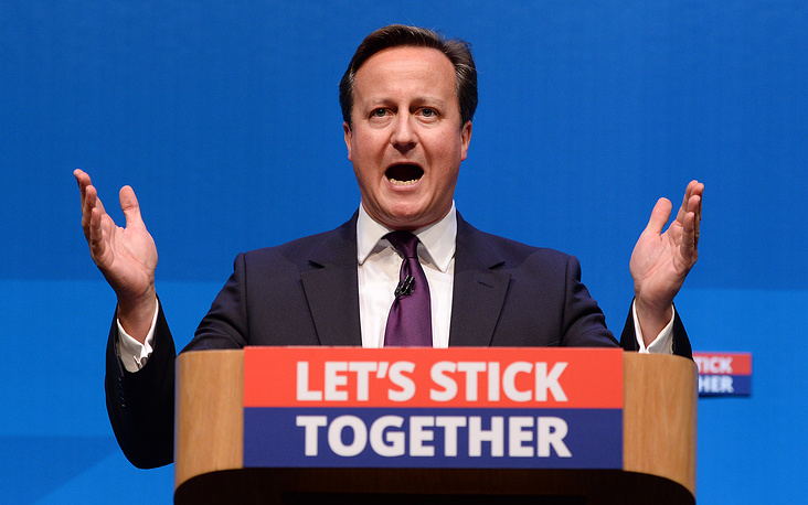 British Prime Minister David Cameron also calls for unity