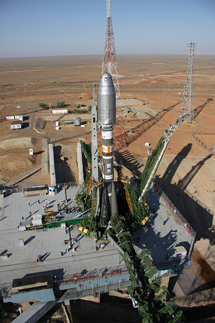 Russian Baikonur Cosmodrome is the first and the world's largest space launch facility located in southern Kazakhstan. The first artificial satellite Sputnik 1 was launched from it on October 4, 1957. The theme of World Space Week 2014 is the contribution of satellite navigation to society