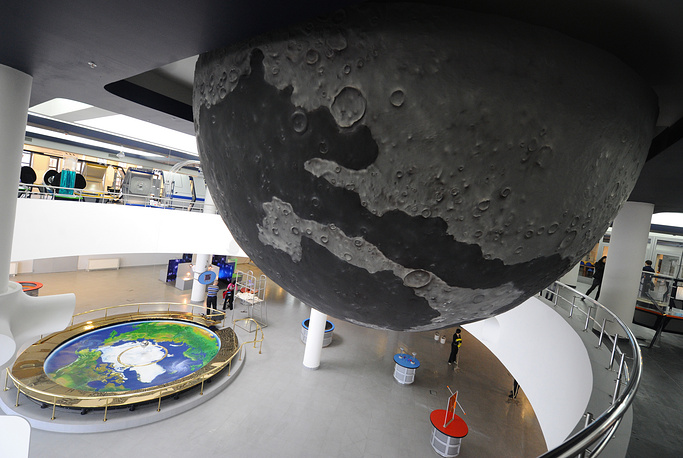 Moscow Planetarium was opened for public on June 12, 2011
