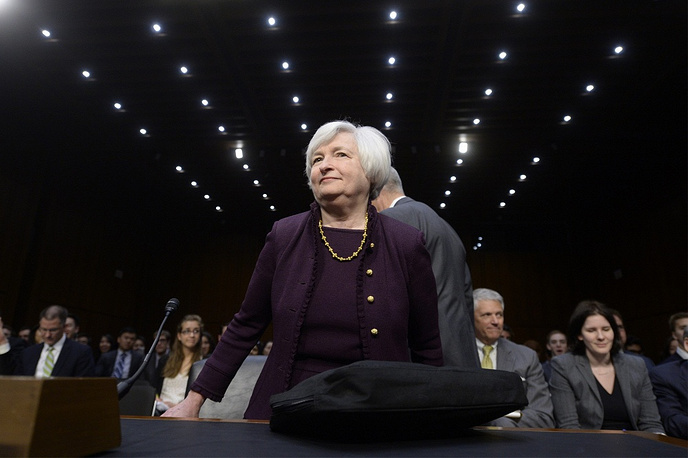 6. Federal Reserve Board chair Janet Yellen