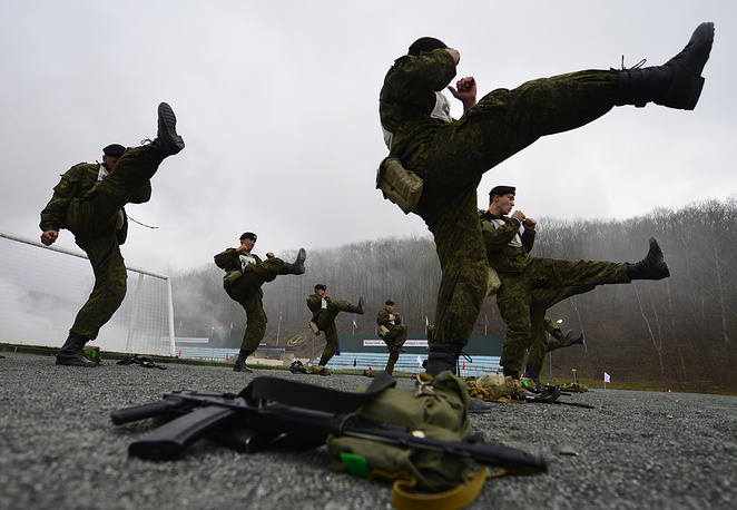 The total number of Russian marines now stands at about 12.5 thousand people