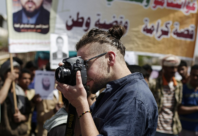 Luke Somers, an American photojournalist was kidnapped over a year ago by al-Qaida. He was killed on December 6, 2014 during a US-led rescue attempt in Yemen