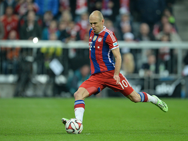 Arjen Robben of Munich