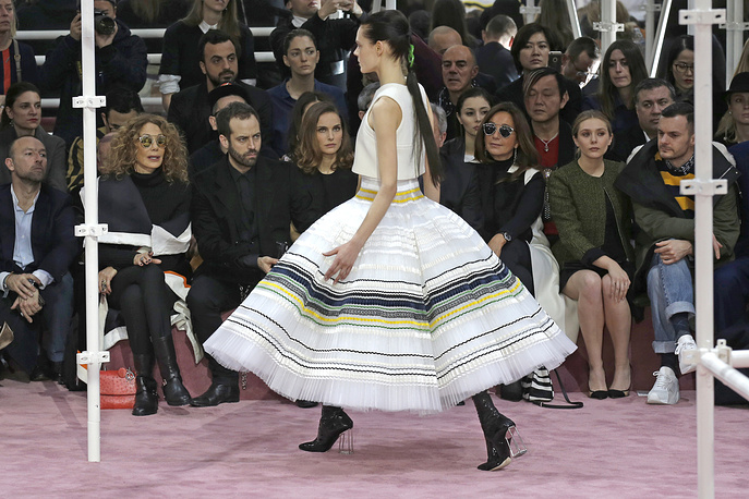 Christian Dior's Spring-Summer 2015 Haute Couture fashion collection