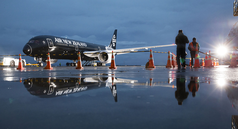 Air New Zealand which was leader of last year's rating is sixth in 2015. Photo: Air New Zealand's Boeing 787-9 Dreamliner after the arrival at Auckland Airport