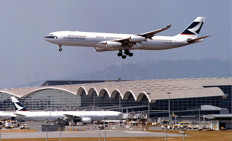 World's new leading airline in terms of its safety record is Cathay Pacific from Hong Kong