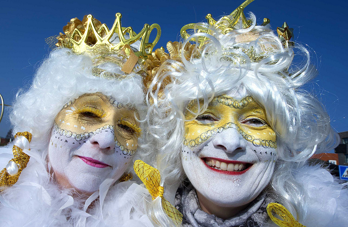 Carnival parade in Roermond, The Netherlands