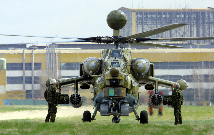 Mi-28 anti-armor attack helicopter