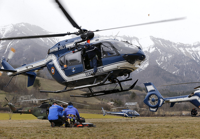 Aviation specialists from investigation teams of Germany and France as well as French juridical police also work at the crash site