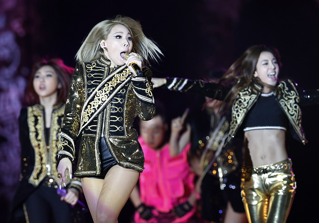 2. South Korean rapper and singer Lee Chae-rin, or CL (left). 6.9% of the votes