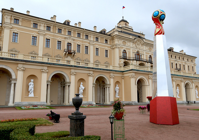 The draw for the 2018 FIFA World Cup Preliminary Competition will be held at the historic Konstantinovsky Palace, a stronghold of Russia's rich culture located on the Gulf of Finland's stunning shoreline. Photo:Konstantinovsky Palace