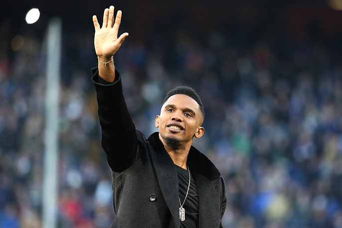 Three-time winner of the Champions League Samuel Eto'o will be one of Valcke assistants too