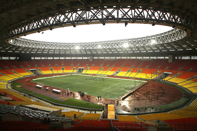 Luzhniki Arena stadium in Moscow, which is intended to host the final match of the 2018 World Cup, was officially opened on 31 July 1956