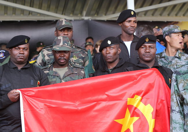 Servicemen of the Angolan Armed Forces
