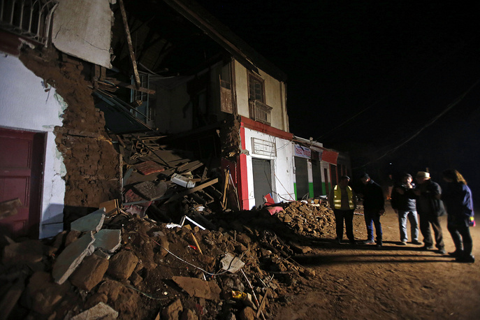 A magnitude 8.4 earthquake hit off northern Chile on the night of September 17