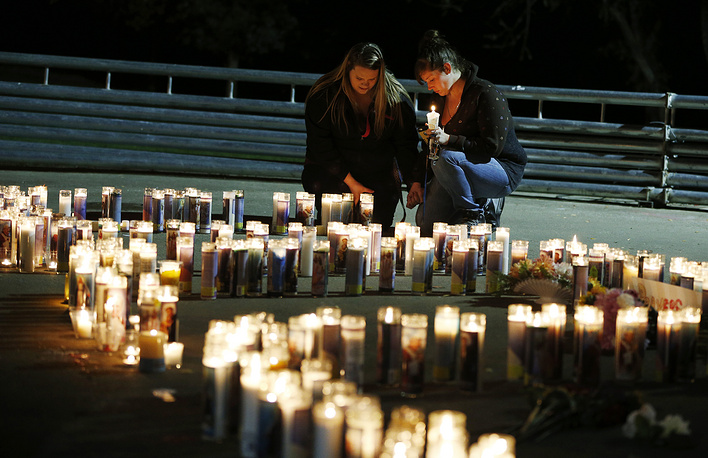 According to the federal authorities, ten people were found dead, with the gunman among them