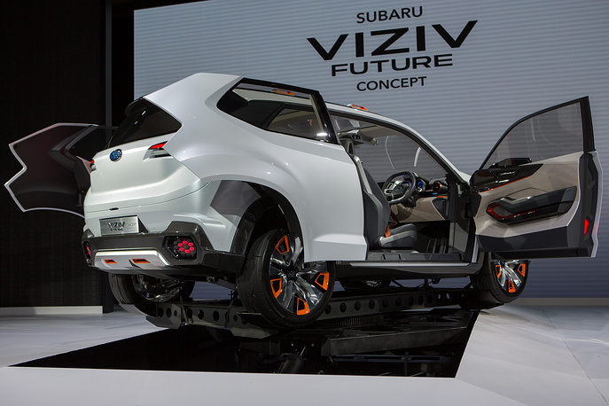 Subaru VIZIV Future Concept vehicle