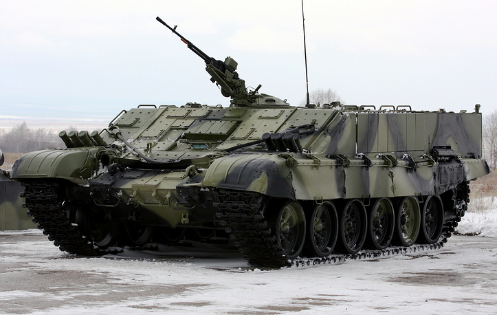 BMO-T heavy combat vehicle designed to transport weaponry and military personnel