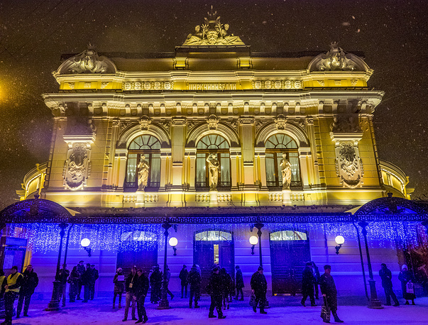 Russia's oldest permanent circus located in Saint-Petersburg hosted its first show after a 1,5-year restoration