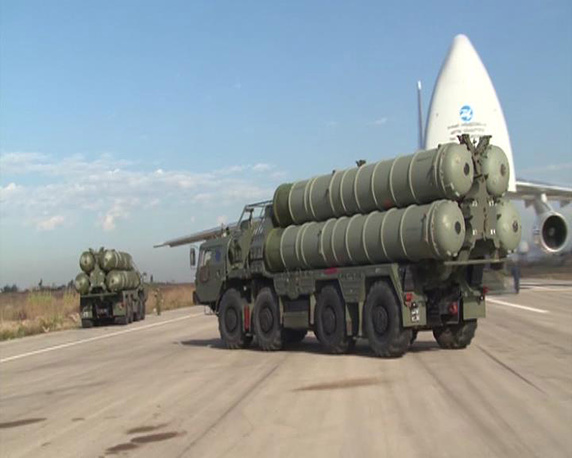 Moscow has also redeployed S-400 air defense systems for protection of the air grouping and the air base