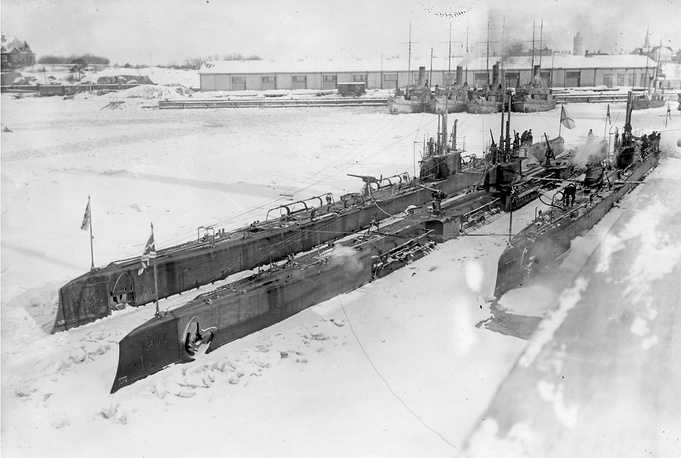"Submarines of Bars type: Volk (Russian: ""Wolf""), Bars (Russian: ""Leopard""), Gepard (Russian: ""Cheetah""). The Bars class were a group of submarines built for the Imperial Russian Navy during World War I"
