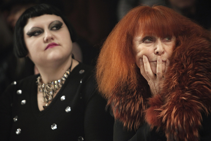 US singer Beth Ditto and Sonia Rykiel, 2010