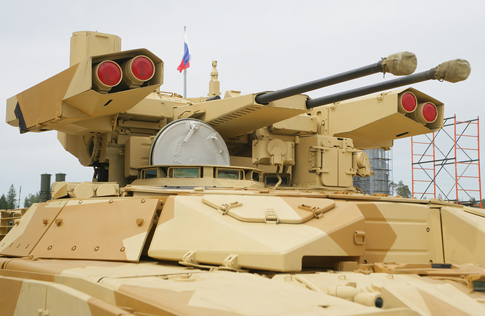 BMPT-72 tank support vehicle (Terminator 2)