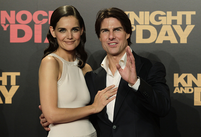 Katie Holmes and Tom Cruise divorced in June 2012 after five years of marriage