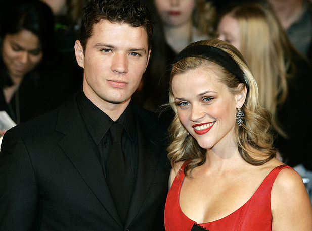 Ryan Phillippe & Reese Witherspoon were married from 1999 to 2007