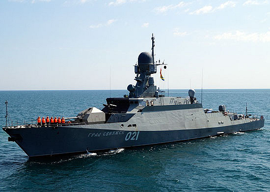 The lead ship of Project 21631 Grad Sviyazhsk
