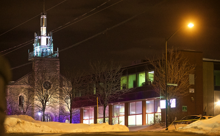 Quebec Islamic Cultural Centre in Quebec City, Canada