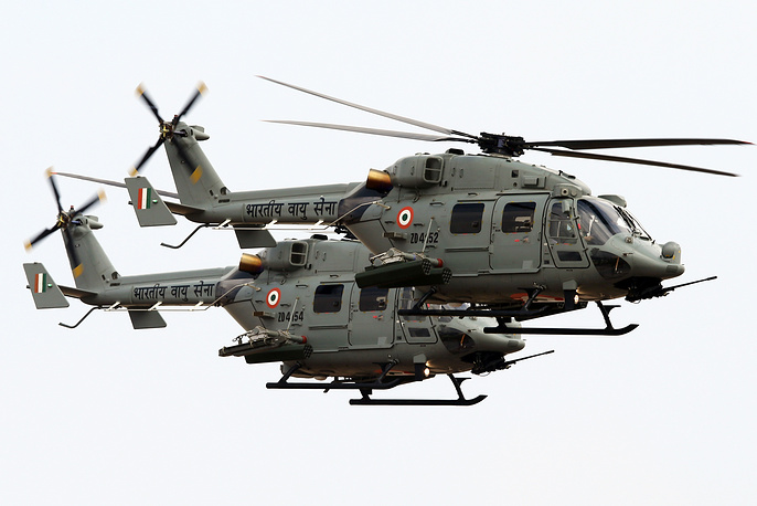 Britain's Westland Lynx multipurpose military helicopters