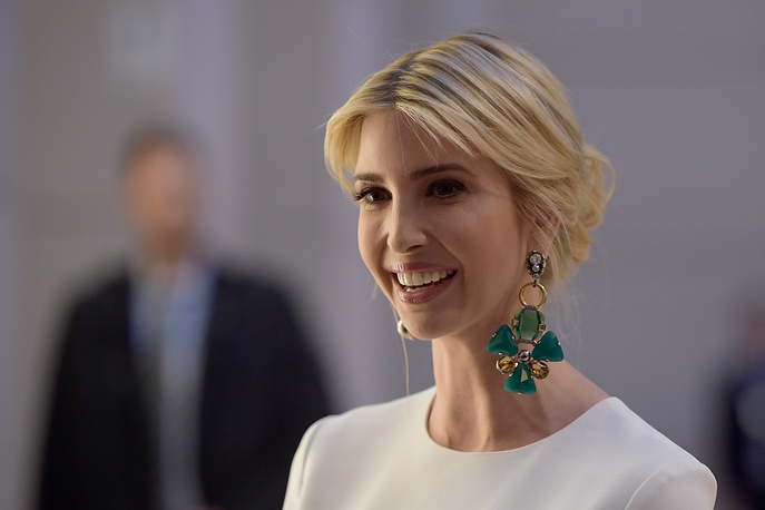 Ivanka Trump at a Gala Dinner at Deutsche Bank within the framework of the W20 summit in Berlin