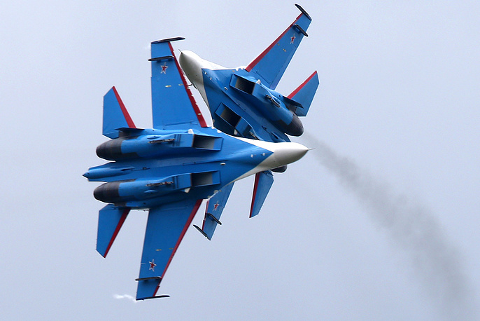 Starting in 2004, the Russian Air Force began a major update of the original Soviet Su-27 fleet. The upgraded variants were designated Su-27SM, which belong to the 4+ generation