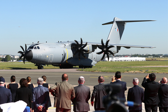 Airbus A400M Atlas military transport aircraft