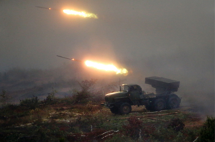 Russia's air defense artillery systems Pantsir-S1, air defense missiles Strela-1 and other counter-weapons were used