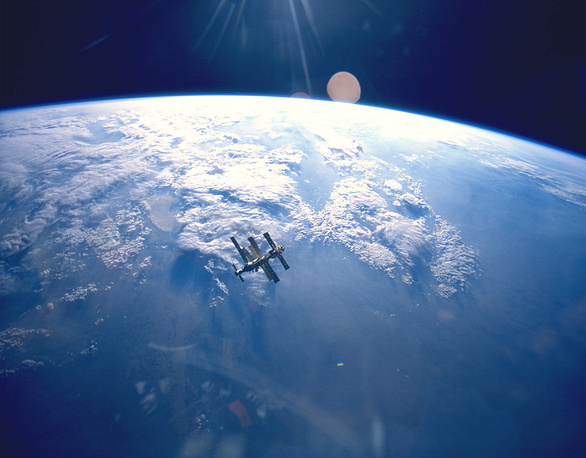 Mir space station  operated for more than 15 years in low Earth orbit