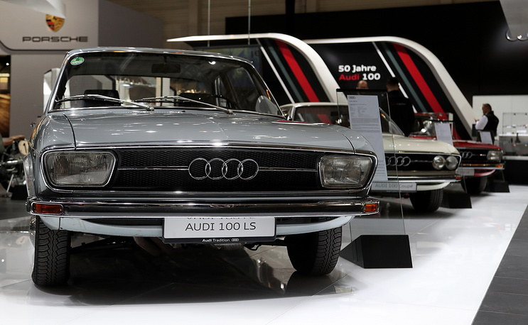 Audi 100 LS from 1958